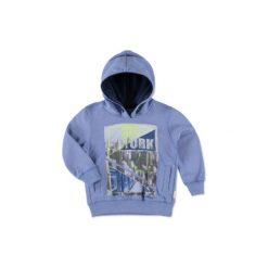 Staccato  Boys Mini Bluza blue melange - niebieski. Niebieskie bluzy niemowlęce marki Staccato, z bawełny, z długim rękawem, długie. Za 75,00 zł.