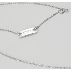 Emporio Armani Naszyjnik silvercoloured. Szare naszyjniki męskie Emporio Armani. W wyprzedaży za 391,20 zł.