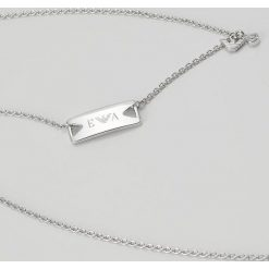 Emporio Armani Naszyjnik silvercoloured. Szare naszyjniki męskie marki Emporio Armani. W wyprzedaży za 391,20 zł.