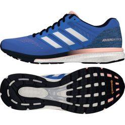 Buty sportowe damskie: Adidas Buty damskie adizero Boston 7 niebieskie r. 40 (BB6499)