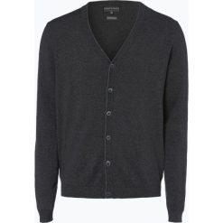 Finshley & Harding - Kardigan męski, szary. Czarne swetry rozpinane męskie marki Finshley & Harding, w kratkę. Za 179,95 zł.