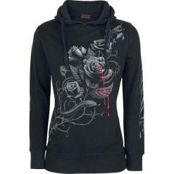 Spiral Fatal Attraction Bluza z kapturem damska czarny. Czarne bluzy z kapturem damskie Spiral, xl, z nadrukiem. Za 184,90 zł.