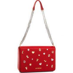 Torebka LOVE MOSCHINO - JC4147PP16LZ0500 Rosso. Czerwone torebki klasyczne damskie marki Love Moschino, ze skóry ekologicznej. W wyprzedaży za 839,00 zł.