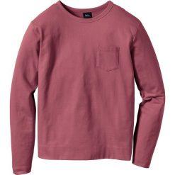 Bluza Regular Fit bonprix jeżynowy. Fioletowe bejsbolówki męskie bonprix, l, z dresówki. Za 37,99 zł.