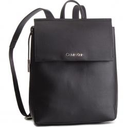 Plecak CALVIN KLEIN - Stitch Backpack K60K604802 001. Czarne plecaki damskie Calvin Klein, ze skóry ekologicznej, klasyczne. Za 649,00 zł.