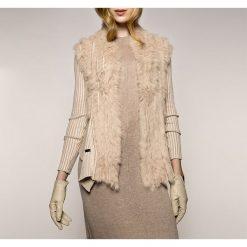 Sweter damski 85-9F-003-9. Szare swetry klasyczne damskie marki Mohito, l, z asymetrycznym kołnierzem. Za 559,00 zł.