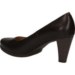 CZÓŁENKA BUT S T745-Z32-0. Czarne buty ślubne damskie Casu, na koturnie. Za 199,99 zł.