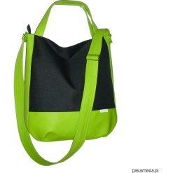Sportowa torba przez ramię, limonkowa. Zielone torby podróżne Pakamera, do ręki. Za 125,00 zł.