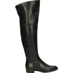 Kozaki - 4312 NAPP NER. Czarne buty zimowe damskie marki Venezia, z materiału, na obcasie. Za 779,00 zł.