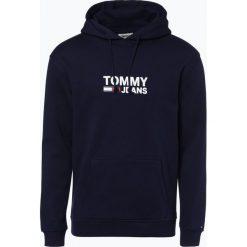 Bejsbolówki męskie: Tommy Jeans - Męska bluza nierozpinana, niebieski