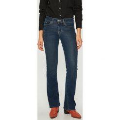 Levi's - Jeansy 715. Brązowe jeansy damskie bootcut marki Levi's®, z obniżonym stanem. Za 369,90 zł.