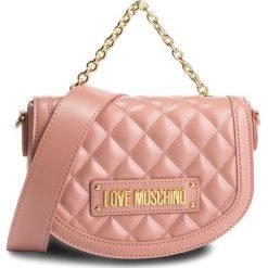 Torebka LOVE MOSCHINO - JC4002PP17LA0600  Rosa. Czerwone torebki klasyczne damskie marki Love Moschino, ze skóry ekologicznej. Za 779,00 zł.