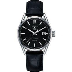 ZEGAREK TAG HEUER CARRERA WAR211A.FC6180. Czarne zegarki męskie marki KALENJI, ze stali. Za 9770,00 zł.