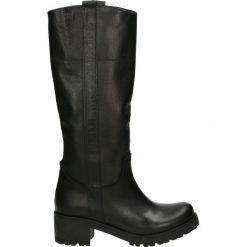 Buty zimowe damskie: Kozaki - 5412 VIT NERO
