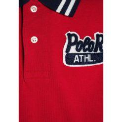 Polo Ralph Lauren PIECED  Koszulka polo signal red. Czerwone t-shirty chłopięce Polo Ralph Lauren, z bawełny. W wyprzedaży za 230,30 zł.