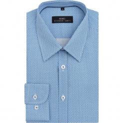 Koszula MARCO 16-05-06-K. Niebieskie koszule męskie na spinki Giacomo Conti, m, z bawełny, z klasycznym kołnierzykiem, z długim rękawem. Za 259,00 zł.