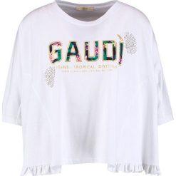 T-shirty damskie: Gaudi SHORT SLEEVE Tshirt z nadrukiem white