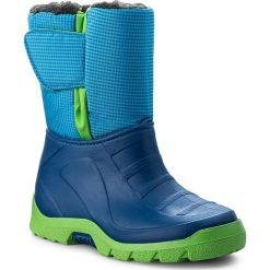 Buty zimowe chłopięce: Śniegowce MANITU – 120130 Blau 5