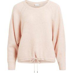 Swetry damskie: Sweter okrągły dekolt, cienka dzianina