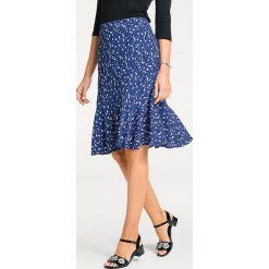 Odzież damska: Spódnica w kolorze niebiesko-białym