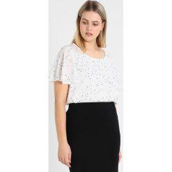 Bluzki asymetryczne: Evans STAR PRINT FLUTE  Bluzka ivory
