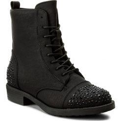 Botki JENNY FAIRY - LS4251-01 Czarny. Czarne buty zimowe damskie Jenny Fairy, z materiału, na obcasie. W wyprzedaży za 90,99 zł.