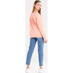 Bluzy damskie: Juvia HAPPINESS  Bluza neon peach