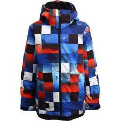 Quiksilver MISSION Kurtka snowboardowa blue red icey check. Szare kurtki dziewczęce sportowe marki Quiksilver, krótkie. W wyprzedaży za 399,20 zł.