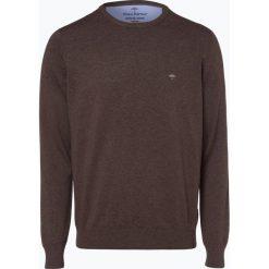 Fynch Hatton - Sweter męski, beżowy. Brązowe swetry klasyczne męskie Fynch-Hatton, m, z dzianiny. Za 249,95 zł.