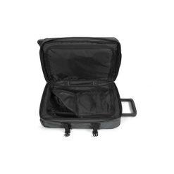 Walizki miękkie Eastpak  TRANVERZ S BLACK DENIM. Czarne torebki klasyczne damskie marki Eastpak, z denimu. Za 522,04 zł.