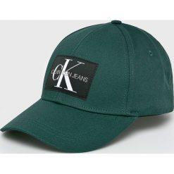 Calvin Klein Jeans - Czapka. Szare czapki z daszkiem męskie Calvin Klein Jeans. Za 139,90 zł.