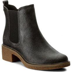 Sztyblety TIMBERLAND - Brinda Double Gore C A1HOM  Forged Iron. Czarne buty zimowe damskie marki Timberland, z materiału, na obcasie. W wyprzedaży za 369,00 zł.