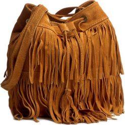 Torebka CREOLE - RBI10166 Koniak. Brązowe torebki klasyczne damskie Creole, ze skóry. W wyprzedaży za 139,00 zł.