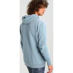 Bejsbolówki męskie: Abercrombie & Fitch Bluza z kapturem blue