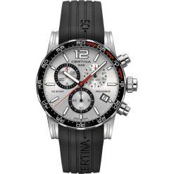 RABAT ZEGAREK CERTINA GENT QUARTZ C027.417.17.037.00. Szare zegarki męskie CERTINA, ze stali. W wyprzedaży za 1900,80 zł.
