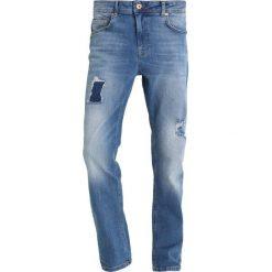 Jeansy męskie regular: YOURTURN Jeansy Straight Leg light blue denim