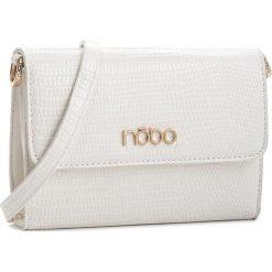 Torebka NOBO - NBAG-C3601-C000  Biały. Białe listonoszki damskie marki Nobo, ze skóry ekologicznej. W wyprzedaży za 109,00 zł.