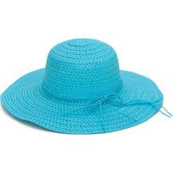 Kapelusz damski Minimalist niebieski. Niebieskie kapelusze damskie marki La Redoute Collections, z bawełny. Za 23,26 zł.