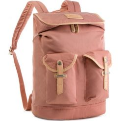 Plecak DOUGHNUT - D218-0090-F Capella Rose. Czerwone plecaki damskie Doughnut, z materiału. Za 359,00 zł.