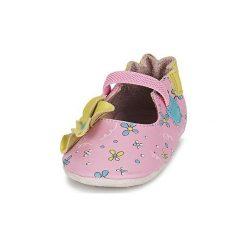 Kapcie dziewczęce: Kapcie niemowlęce Dziecko  Robeez  FLOWER POWER