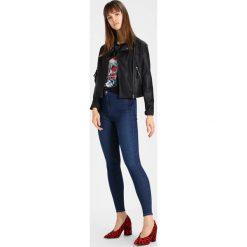 Topshop JONI NEW Jeans Skinny Fit blue denim. Niebieskie rurki damskie Topshop. Za 209,00 zł.