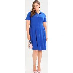 Sukienki hiszpanki: Evans SHIRT POCKET FIT FLARE Sukienka koszulowa cobalt