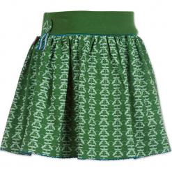 """Spódnica """"Dragonflys"""" w kolorze zielonym. Zielone spódniczki dziewczęce marki 4FunkyFlavours Kids, mini. W wyprzedaży za 82,95 zł."""