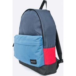 Quiksilver - Plecak Everyday Poster. Szare plecaki męskie Quiksilver, w paski, z poliesteru. W wyprzedaży za 79,90 zł.