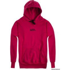 Bluza Damska HOODIE CLASSIC HARPTONE CARMIN. Czerwone bluzy męskie rozpinane marki KALENJI, m, z elastanu, z długim rękawem, długie. Za 229,00 zł.