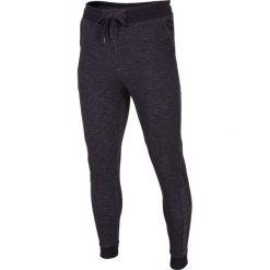 Joggery męskie: Spodnie dresowe męskie SPMD003 – denim melanż