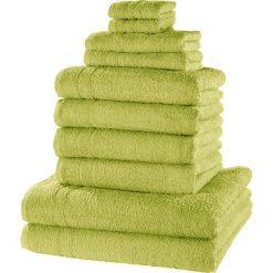 """Bielizna męska: Komplet ręczników """"New Uni""""(10 części) bonprix soczysta zieleń"""