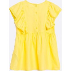 Zippy - Top dziecięcy 128-152 cm. Żółte bluzki dziewczęce zippy, z bawełny, z okrągłym kołnierzem. W wyprzedaży za 24,90 zł.