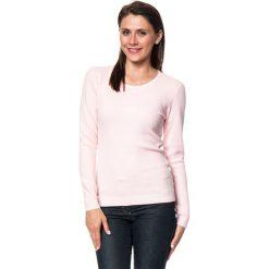 Swetry damskie: Sweter w kolorze jasnoróżowym
