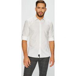 Pepe Jeans - Koszula. Szare koszule męskie jeansowe Pepe Jeans, l, z klasycznym kołnierzykiem, z długim rękawem. Za 279,90 zł.